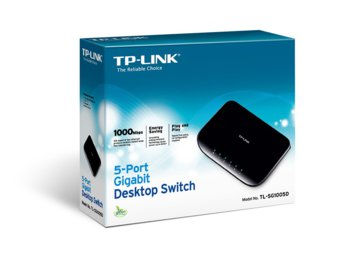 TP-LINK SG1005D switch 5x1GbE Desktop