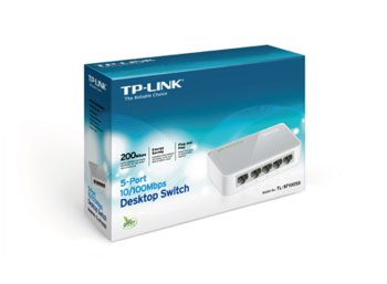 TP-LINK SF1005D switch L2 5x10/100 Desktop