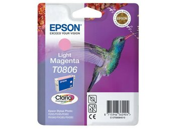 Epson Tusz T080640 Light-Magenta Blister do Stylus Photo R265/360/RX560