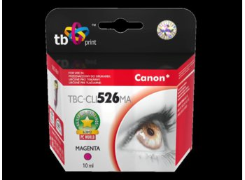 TB Print Tusz do Canon PIXMA iP 4850 Purpurowy-CLI526MA
