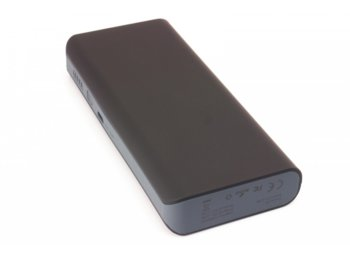 SUNEN PowerBank 13000mAh, LED, 2x USB, 2.1A, czarny