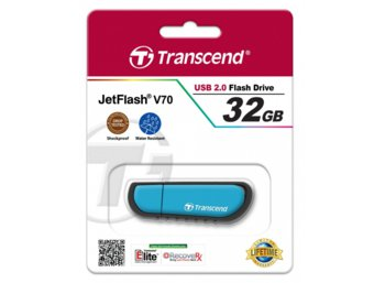 Transcend JETFLASH V70 32GB USB2 SHOCK/WATER PROOF