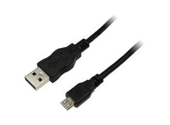 LogiLink Kabel USB2.0 Typ-A do micro Typ-B, dl. 1m