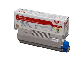 OKI Toner C5650/5750 Yellow (2k)