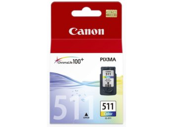 Canon Tusz CL-511 Colour CL-511CL NONBLi 2972B001