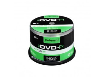 Intenso DVD-R 4.7GB X16 (50 Cake)