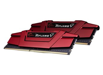 G.SKILL DDR4 RipjawsV 16GB (2x8GB) 3000MHz CL15-15-15 XMP2 Red