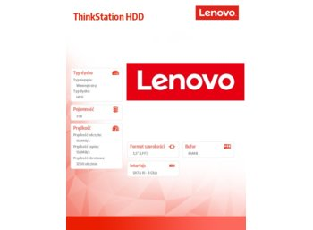 "Lenovo ThinkStation 3TB 7200rpm 3.5"" SATA 6Gbps Hard Drive"