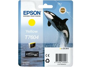Epson T7604 Ink Cartridge Yellow UltraChrome HD