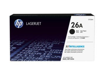 HP Inc. Toner 26A Black 3.1k CF226A
