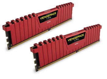 Corsair DDR4 Vengeance LPX 16GB /2400(2*8GB) CL16-16-16-39 RED