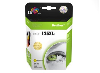 TB Print Tusz do Brother LC125XL Yellow TBB-LC125XLY