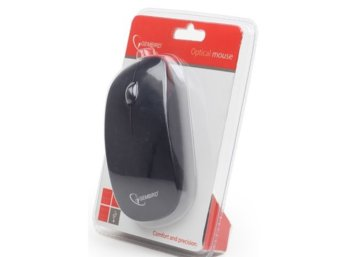 Gembird Mysz OPTO 1-SCROLL USB (MUS-103) Black