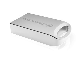 Transcend JETFLASH 510 32GB USB2 SILVER Metallic/Waterproof/Smal                                                                              l