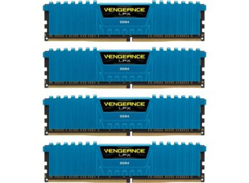 Corsair DDR4 Vengeance LPX 32GB /2400 (4*8GB) CL14-16-16-31 BLUE