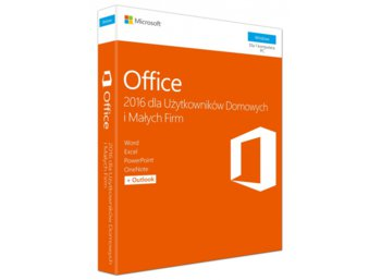 Microsoft Office Home&Business 2016 PL Win 32-bit/x64 P2  T5D-02786