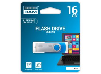 GOODRAM TWISTER 16GB Blue USB2.0