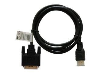 Elmak SAVIO CL-10 Kabel HDMI AM 19pin - DVI-D M 18+1 4Kx2K 1,5m