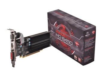 XFX Radeon HD 6450 1GB DDR3 64-BIT Silent Low Profile (HDMI DVI VGA) Box