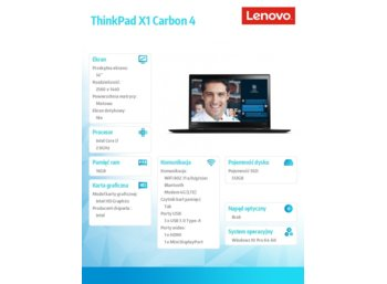 Lenovo ThinkPad X1 Carbon 4 20FB006BPB