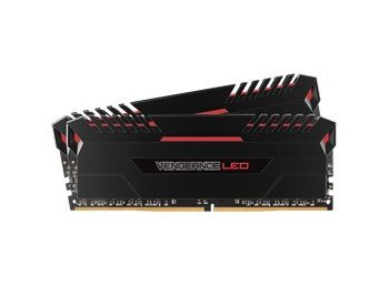 Corsair DDR4 Vengeance LED 32GB/2666(2*16GB) CL16-18-18-36 RED