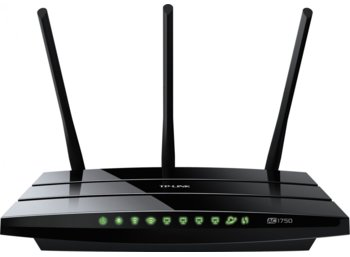 TP-LINK Archer C7 router AC1750 DualBand 1WAN 4LAN-1GB 2USB