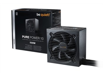 Be quiet! Pure Power 10 500W 80+ Silver BN273
