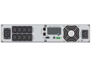 PowerWalker UPS LINE-INTERACTIVE 3000VA 8X IEC, 1X IEC/C19 OUT, RJ45, USB/RS232, LCD, RACK 19''/TOWER