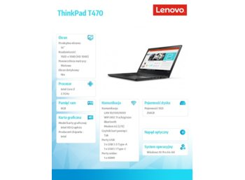 Lenovo ThinkPad T470 20HD000DPB