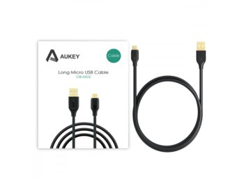 AUKEY CB-MD2 Black szybki kabel Quick Charge micro USB-USB | 2m | 5A | 480 Mbps