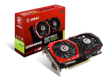 MSI GeForce GTX 1050 TI 4GB DDR 5 128BIT DVI-D/HDMI/DP