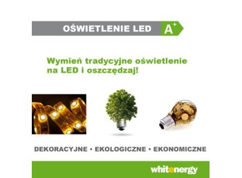 Whitenergy Zasilacz LED ULTRA SLIM 230V|20W|12V