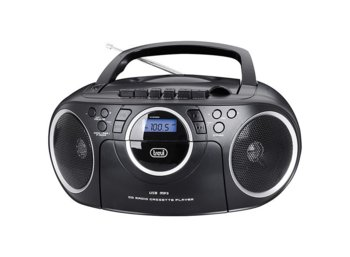 Trevi BOOMBOX CMP572 USB/CD/MP3 CZARNY