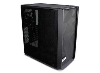 Fractal Design Meshify C Blackout Tempered Glass