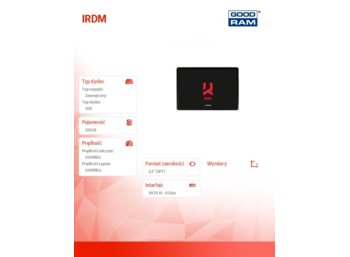 GOODRAM IRDM 120GB SATA3 550/540MB/s