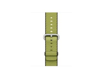 Apple 42mm Dark Olive Check Woven Nylon