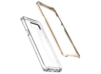 SPIGEN SGP  Neo Hybrid Crystal Gold Maple Etui Galaxy S8