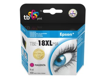 TB Print Tusz do Epson XP 302 Purpurowy TBE-18XLMA