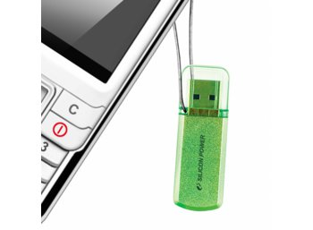 Silicon Power HELIOS 101 8GB USB 2.0 Apple Green