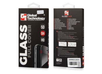 "Global Technology TEMPERED GLASS 5D iPhone 6/6s 4.7"" czarny"