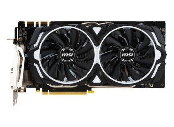 MSI GeForce GTX 1070 Ti ARMOR 8GB DDR5 DVI-D/HDMI/3DP