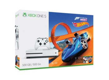 Microsoft Xbox One S 500GB + FH3 + Hot Wheels ZQ9-00211